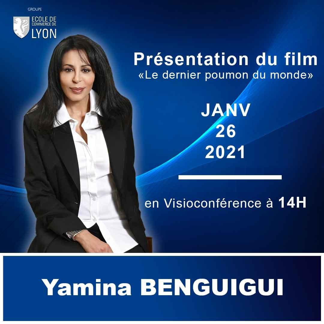 Read more about the article Visioconférence de Madame Yamina BENGUIGUI